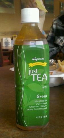 Thirsty dudes wegmans just tea green tea wegmans just tea green tea malvernweather Gallery