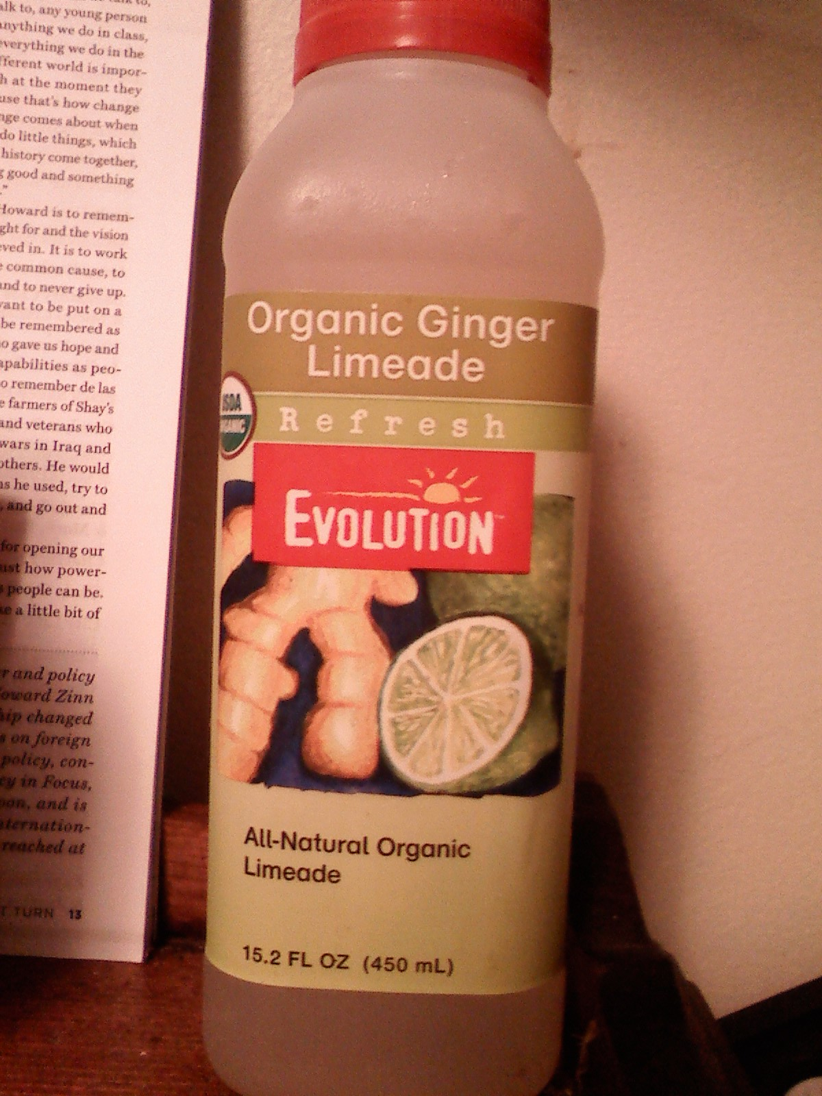 Thirsty Dudes :: Evolution Organic Ginger Limeade