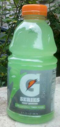 Thirsty Dudes Gatorade Perform 02 Lime Cucumber