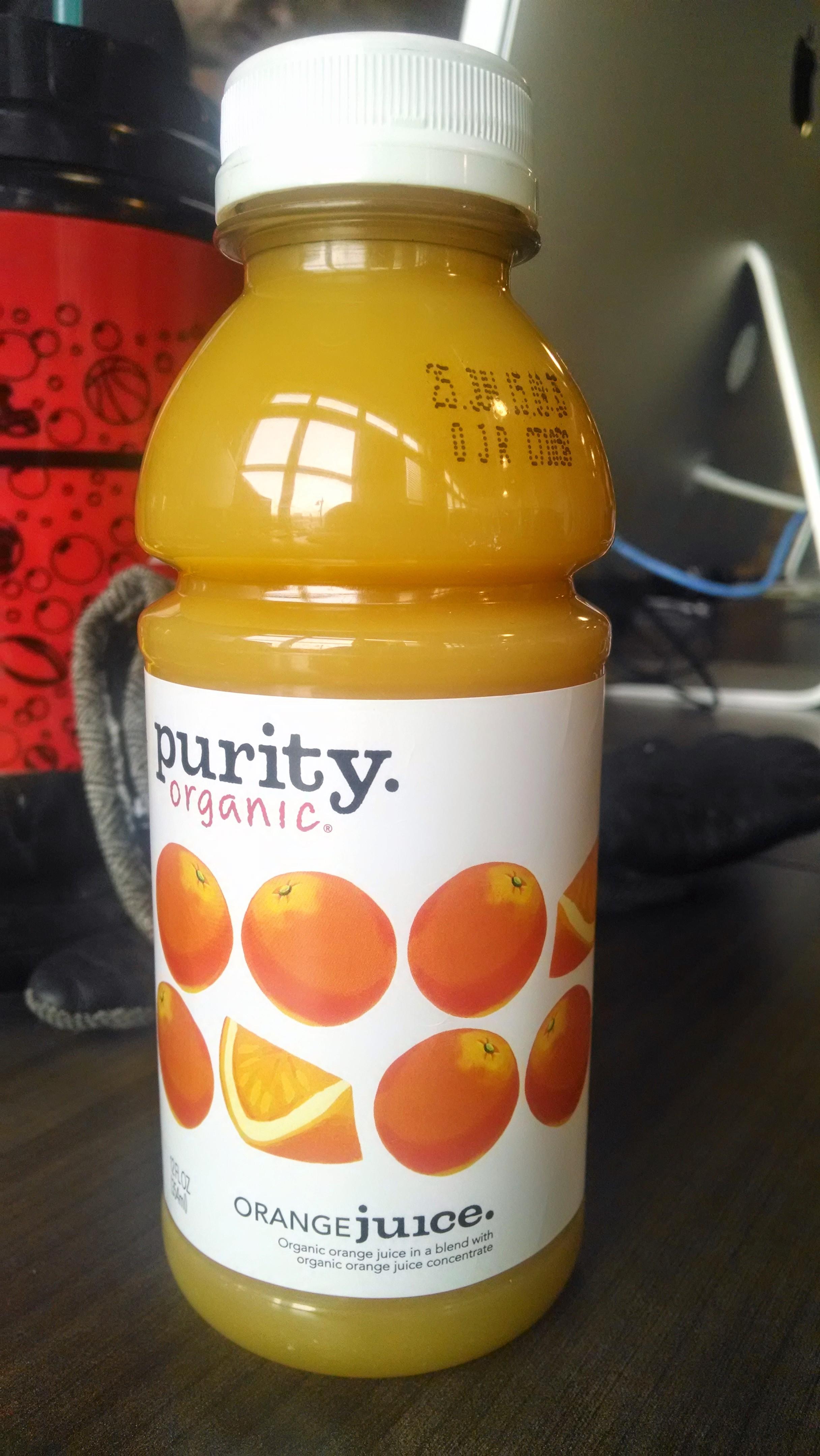 Thirsty Dudes Purity Organic Orange Juice