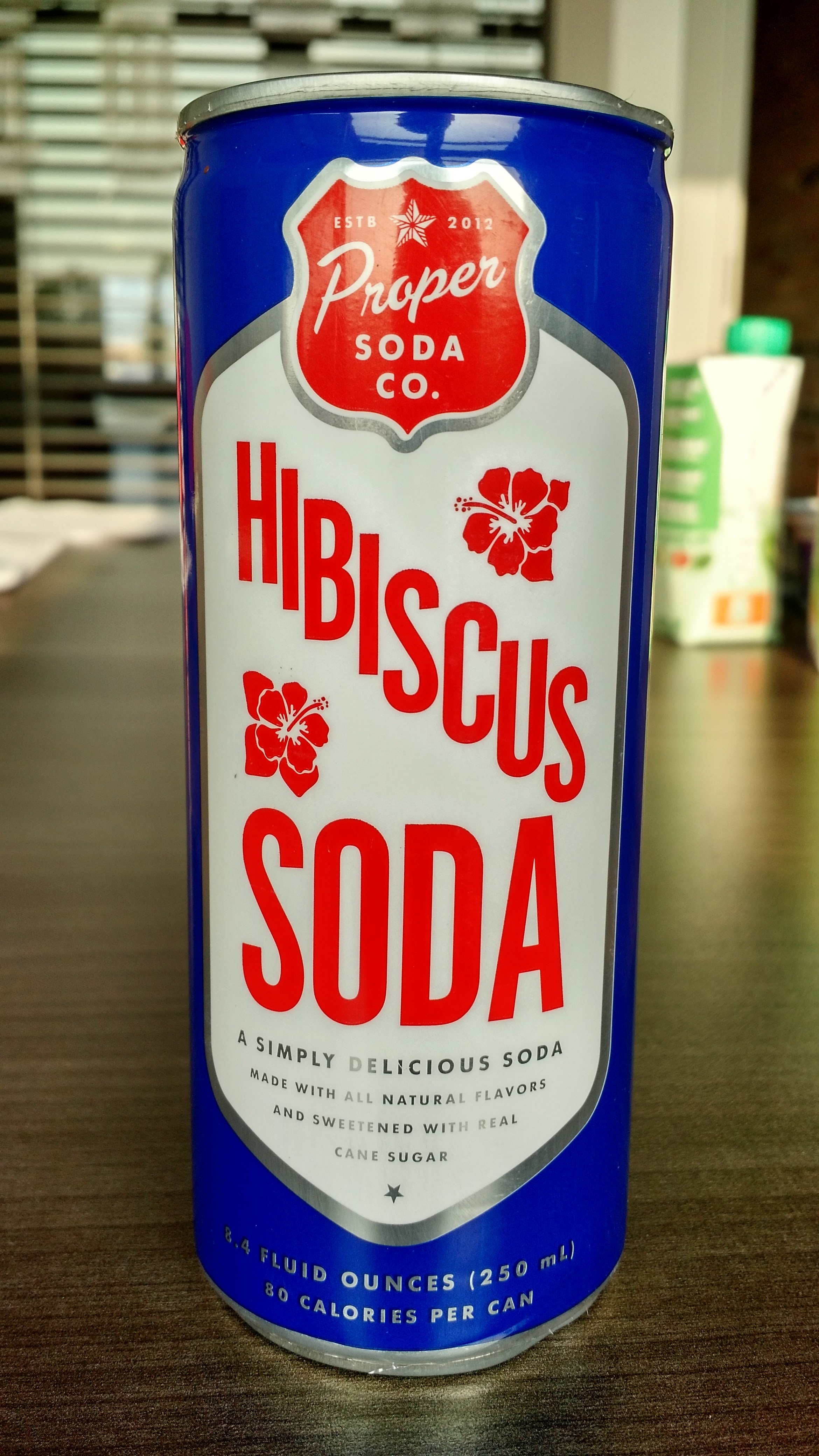 Thirsty Dudes Proper Soda Co Hibiscus Soda