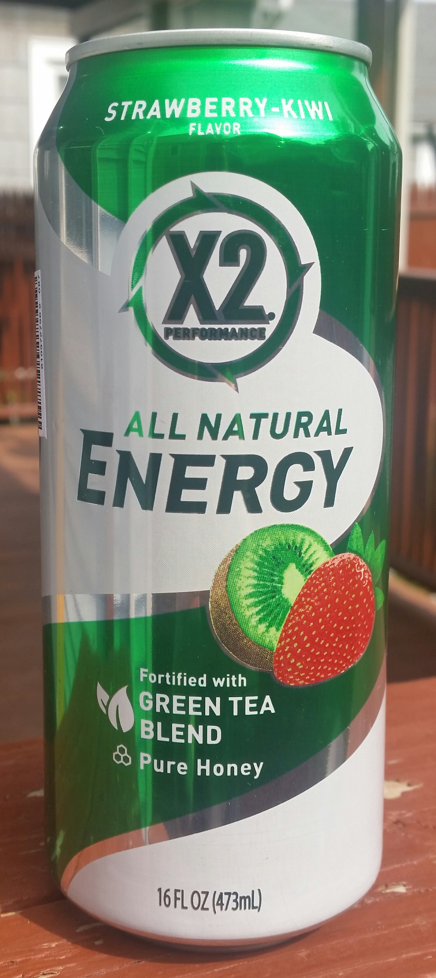 Thirsty Dudes :: X2 Performance All Natural Energy Strawberry Kiwi