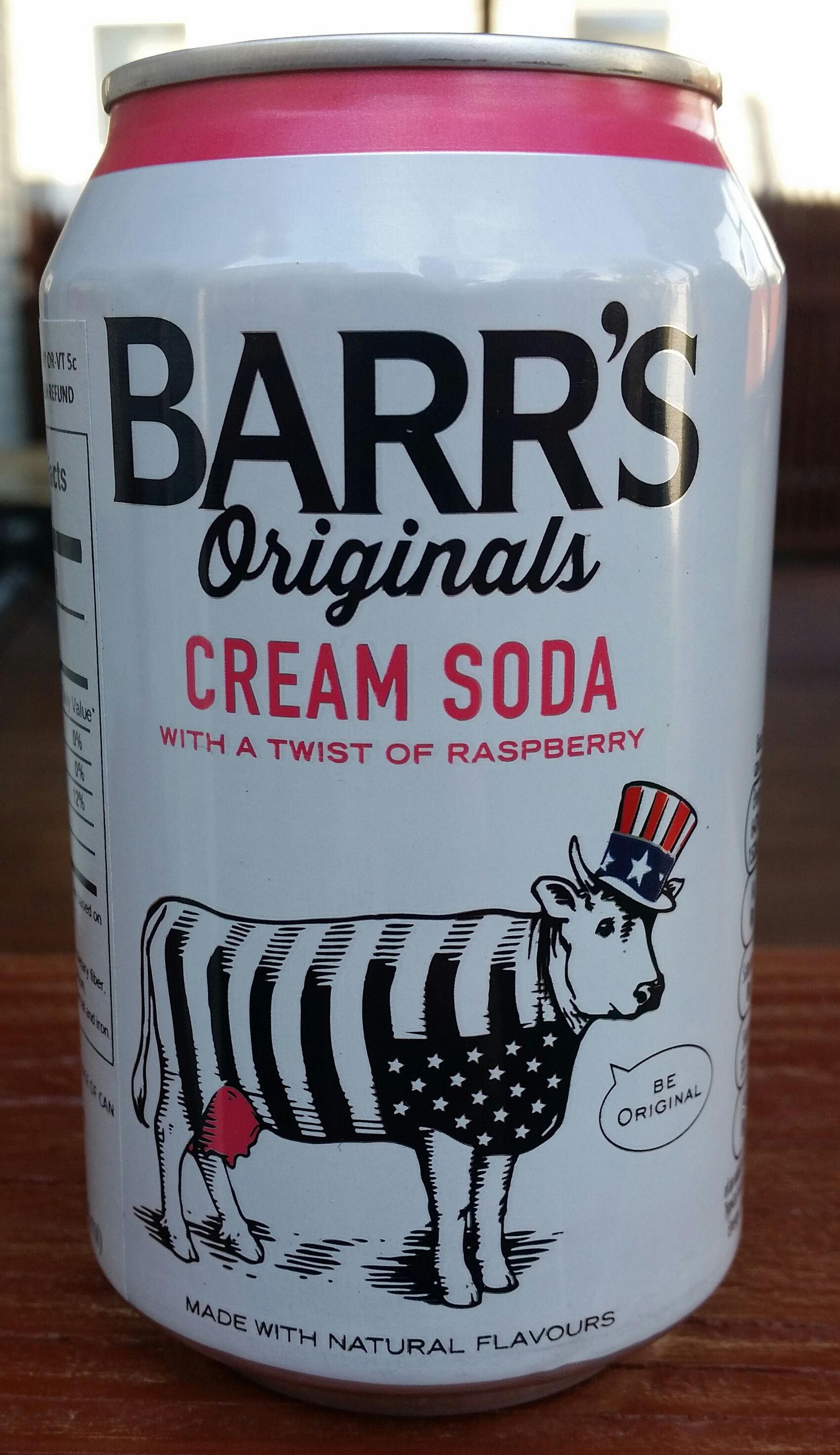 Thirsty Dudes :: Barr Originals Cream Soda With a Twist of Raspberry