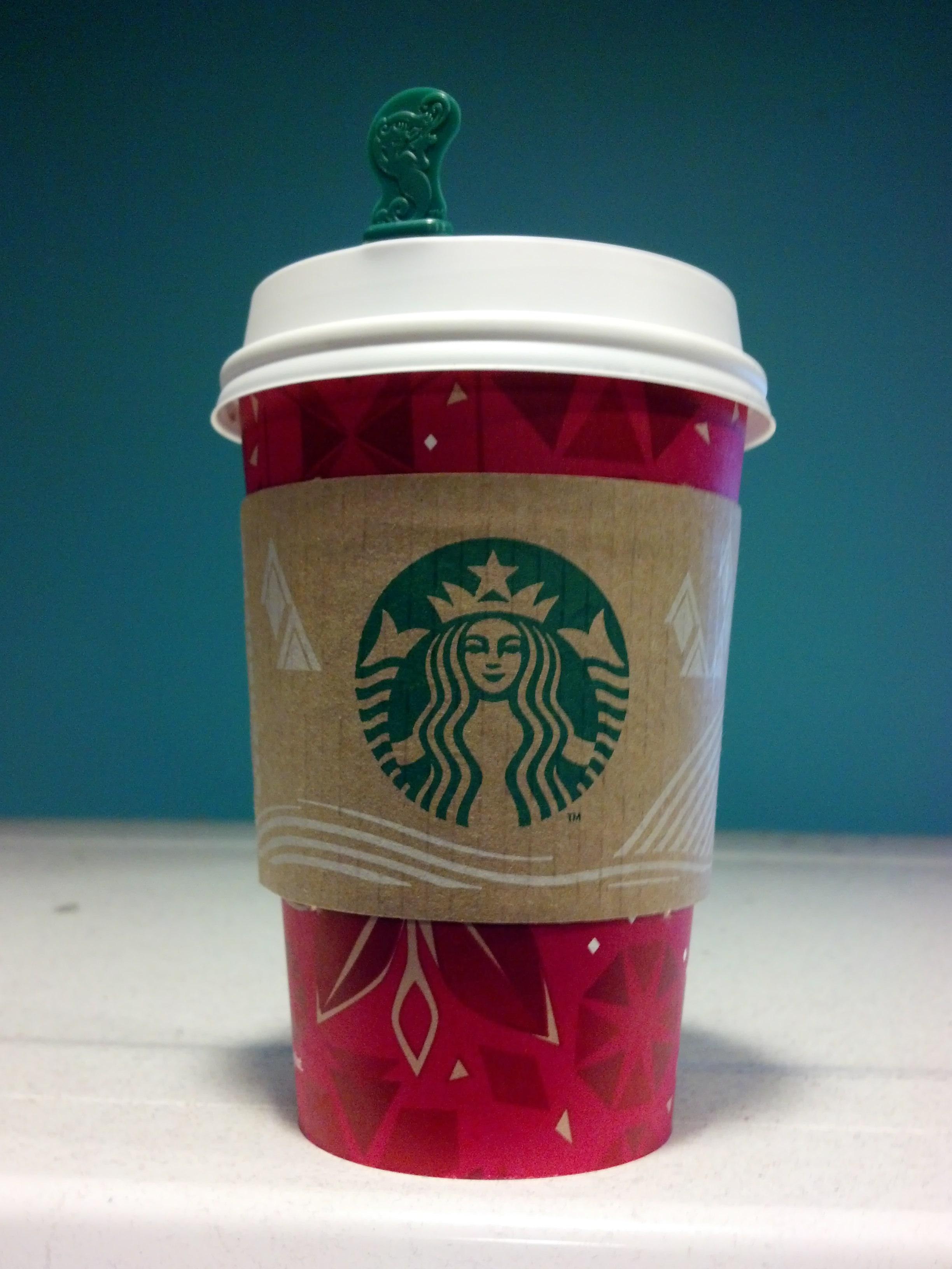 Thirsty Dudes :: Starbucks Mint Hot Chocolate