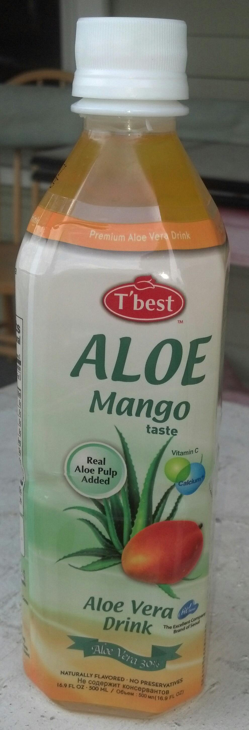 thirsty dudes t 39 best aloe vera drink mango. Black Bedroom Furniture Sets. Home Design Ideas