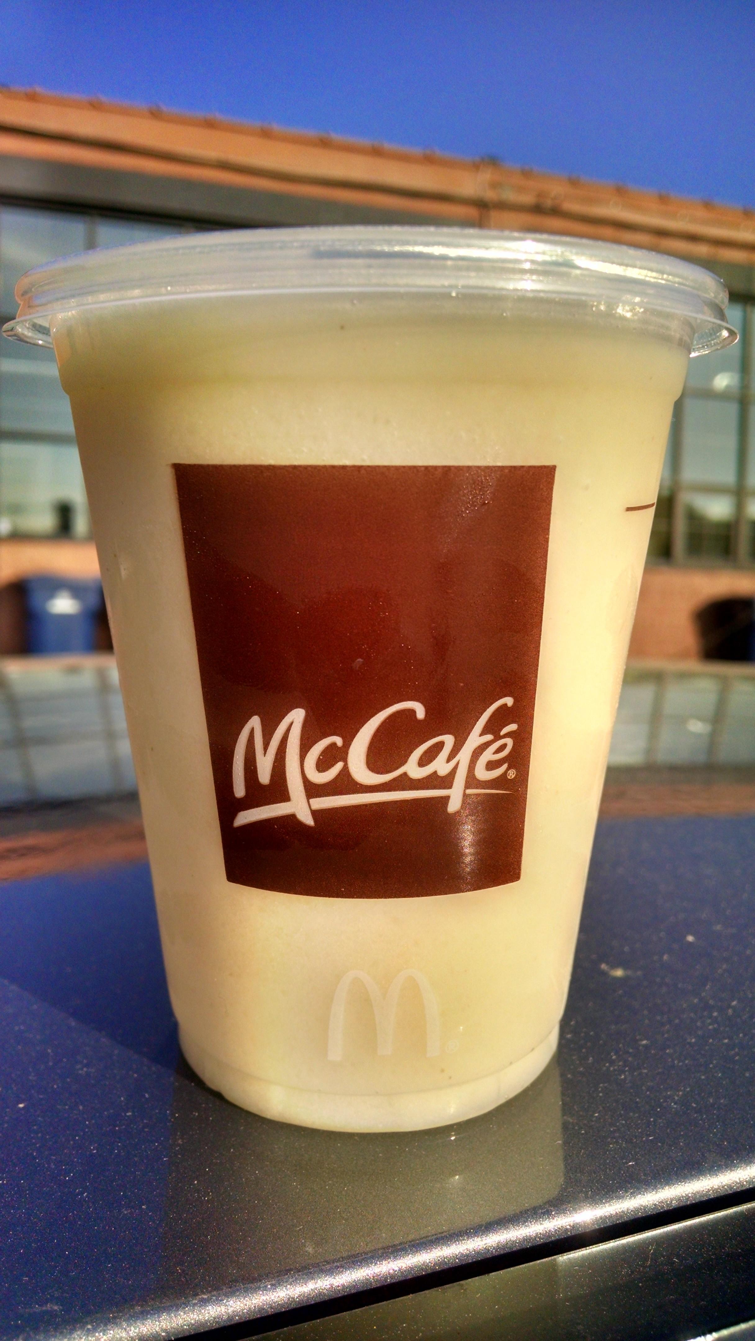 Thirsty Dudes Mcdonalds Mccafe Green Apple
