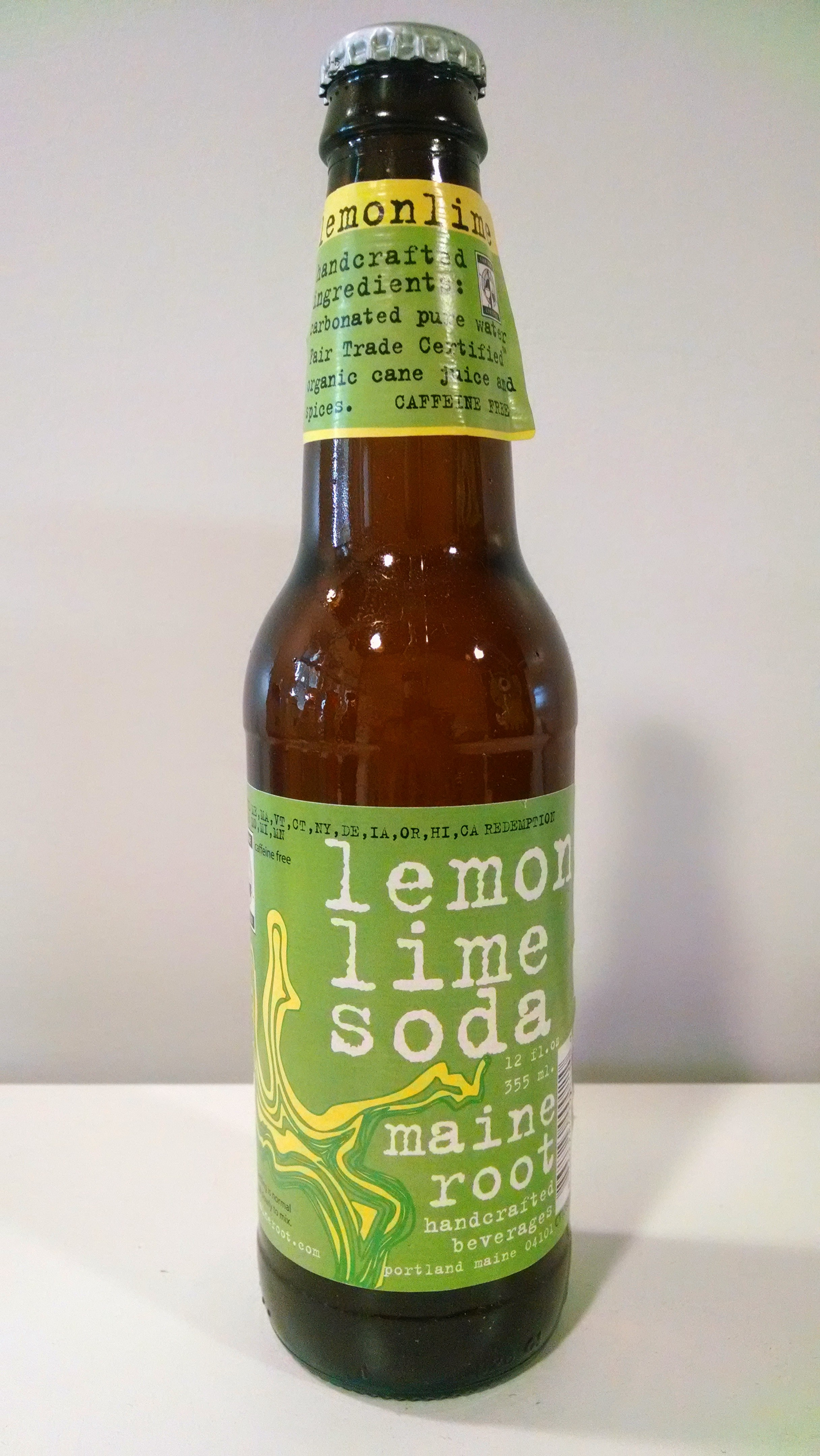 Thirsty Dudes Maine Root Lemon Lime