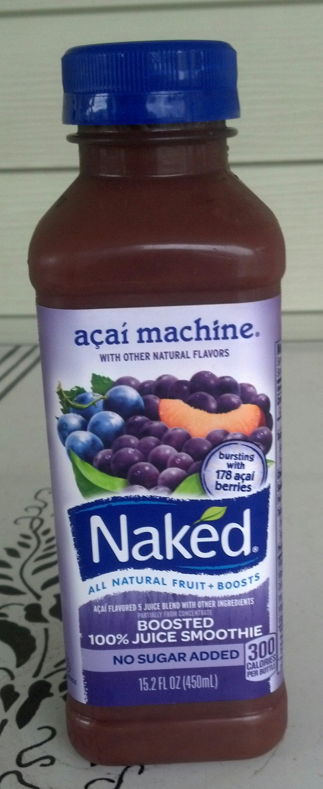 Naked Juice Blue Machine