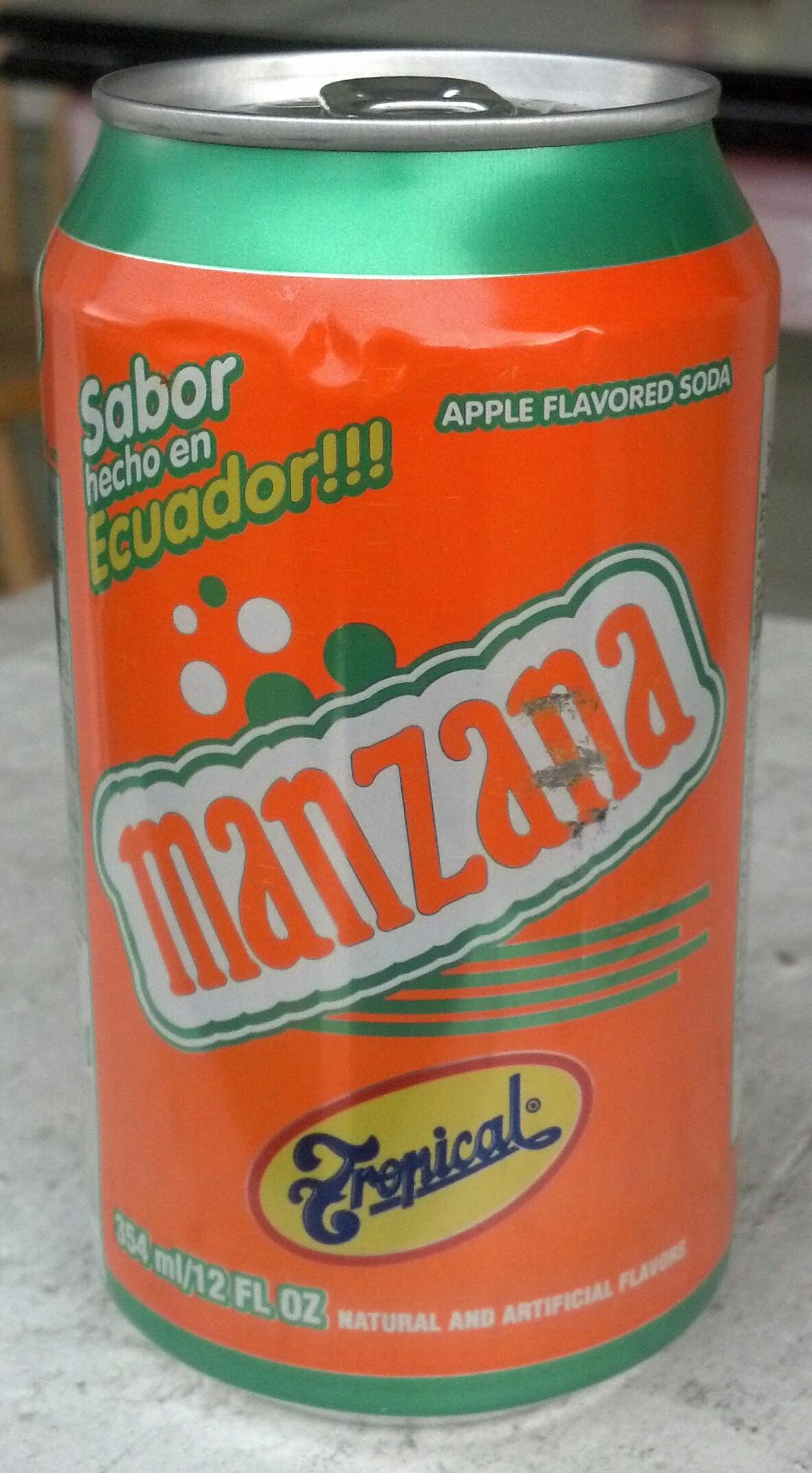 Thirsty Dudes Tropical Manzana