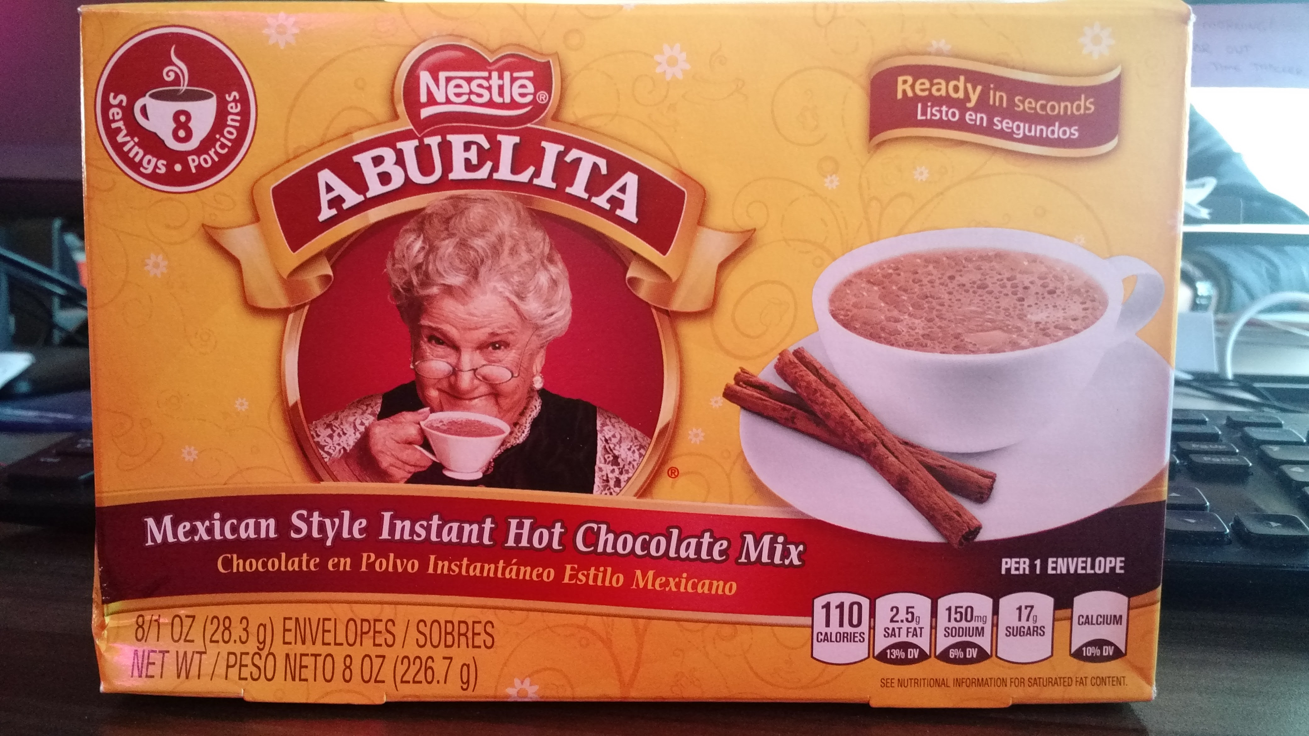 Thirsty Dudes :: Nestle Abuelita Mexican Hot Chocolate