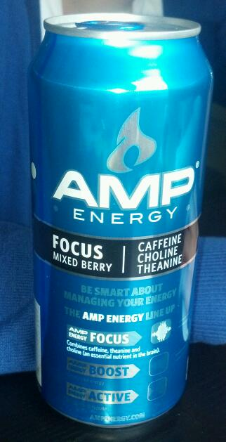 Thirsty Dudes Amp Focus Mixed Berry