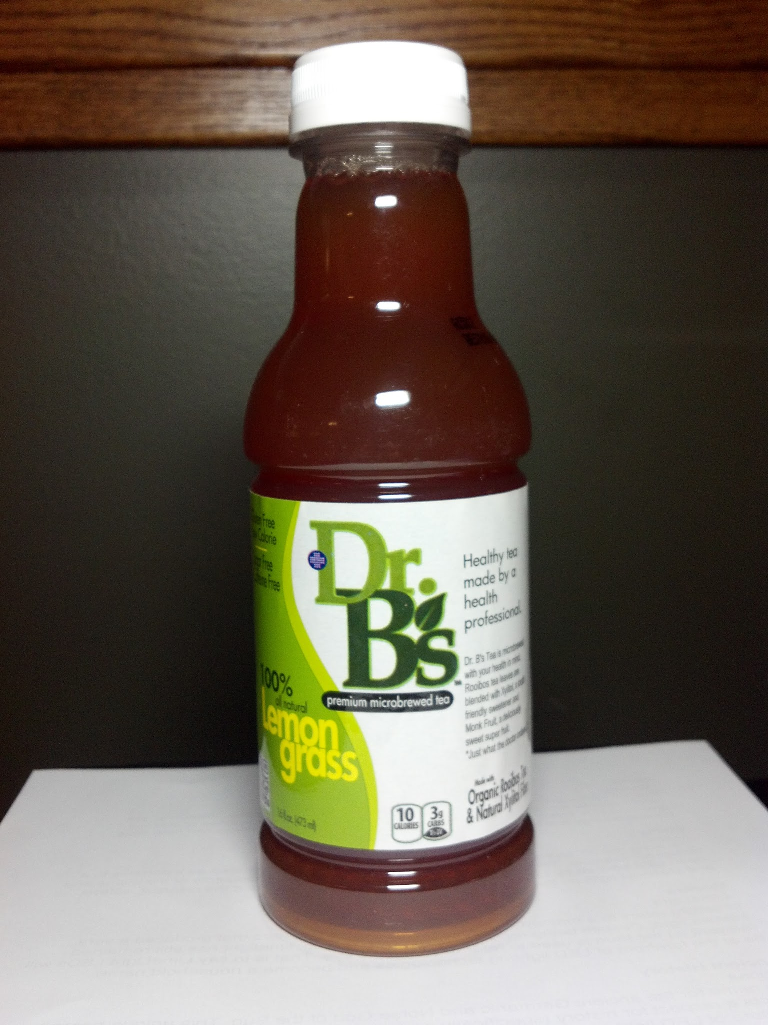 Thirsty Dudes Dr B S Premium Microbrewed Tea Lemongrass