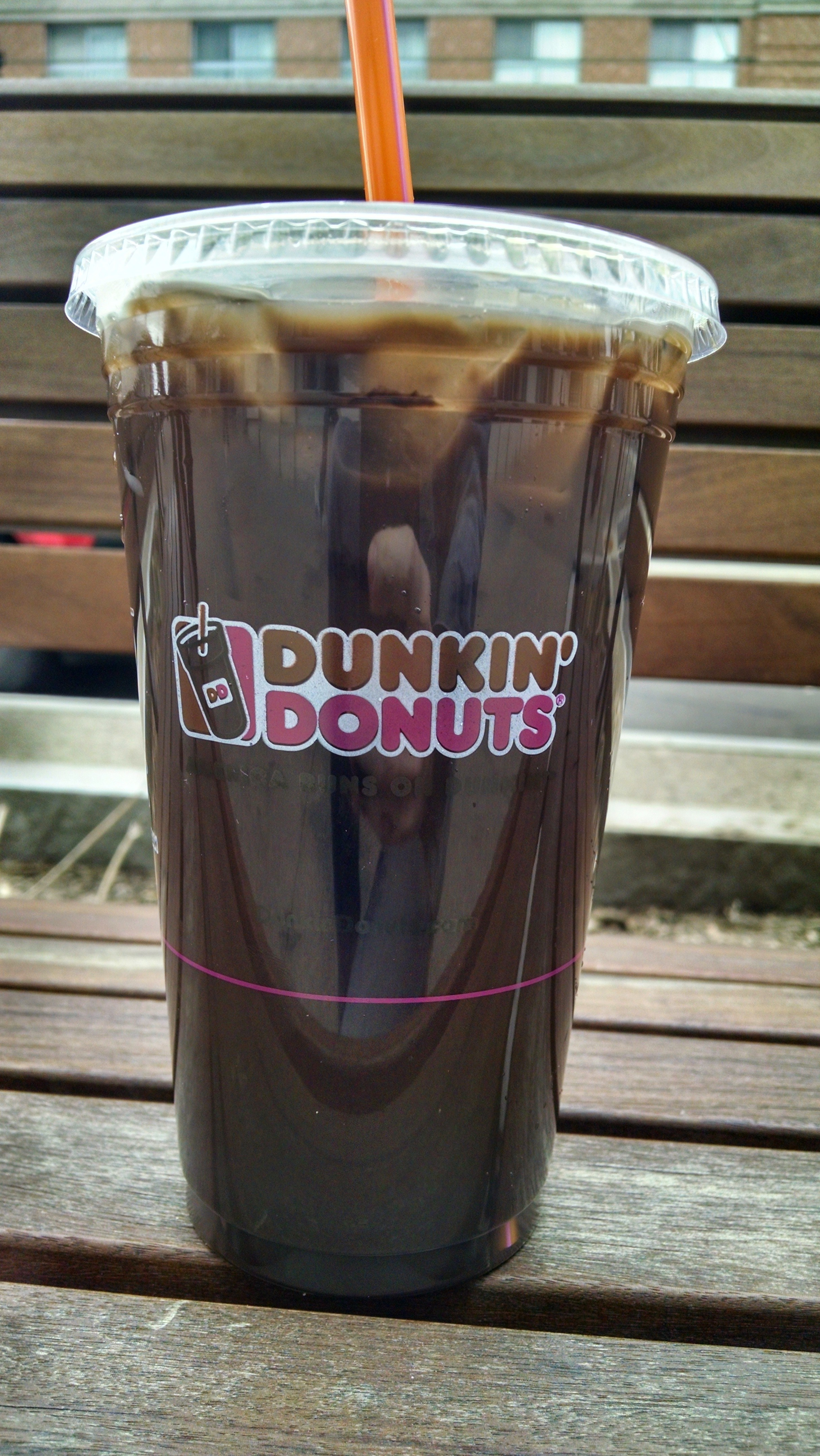 Dunkin Donuts Black Iced Coffee Dunkin' Donuts Iced Coffee