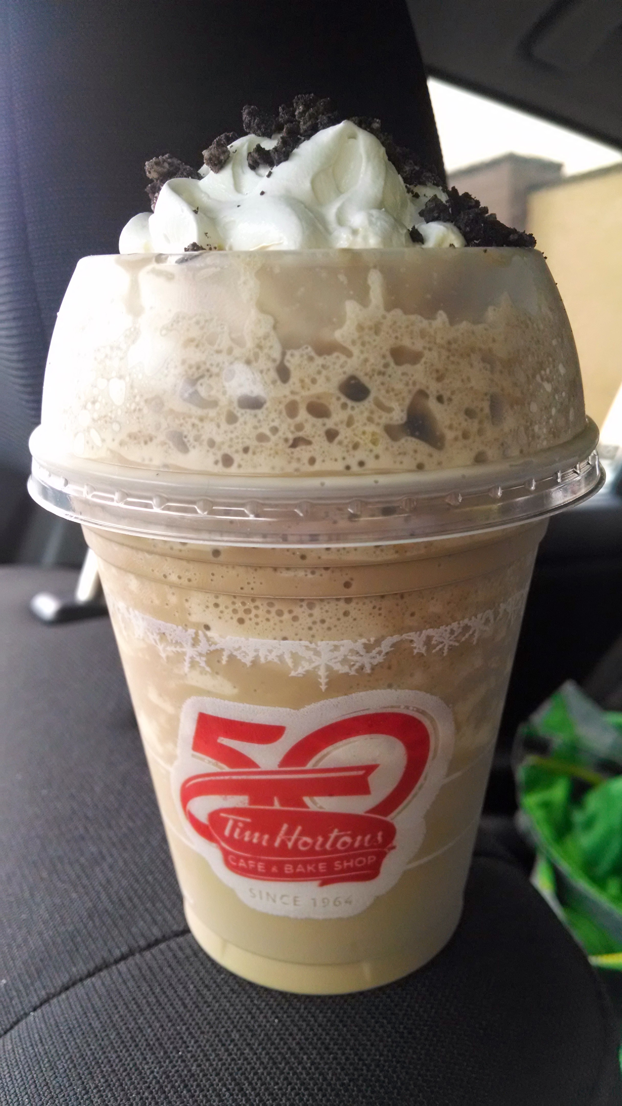 Thirsty Dudes :: Tim Horton\'s Iced Cappuccino Oreo