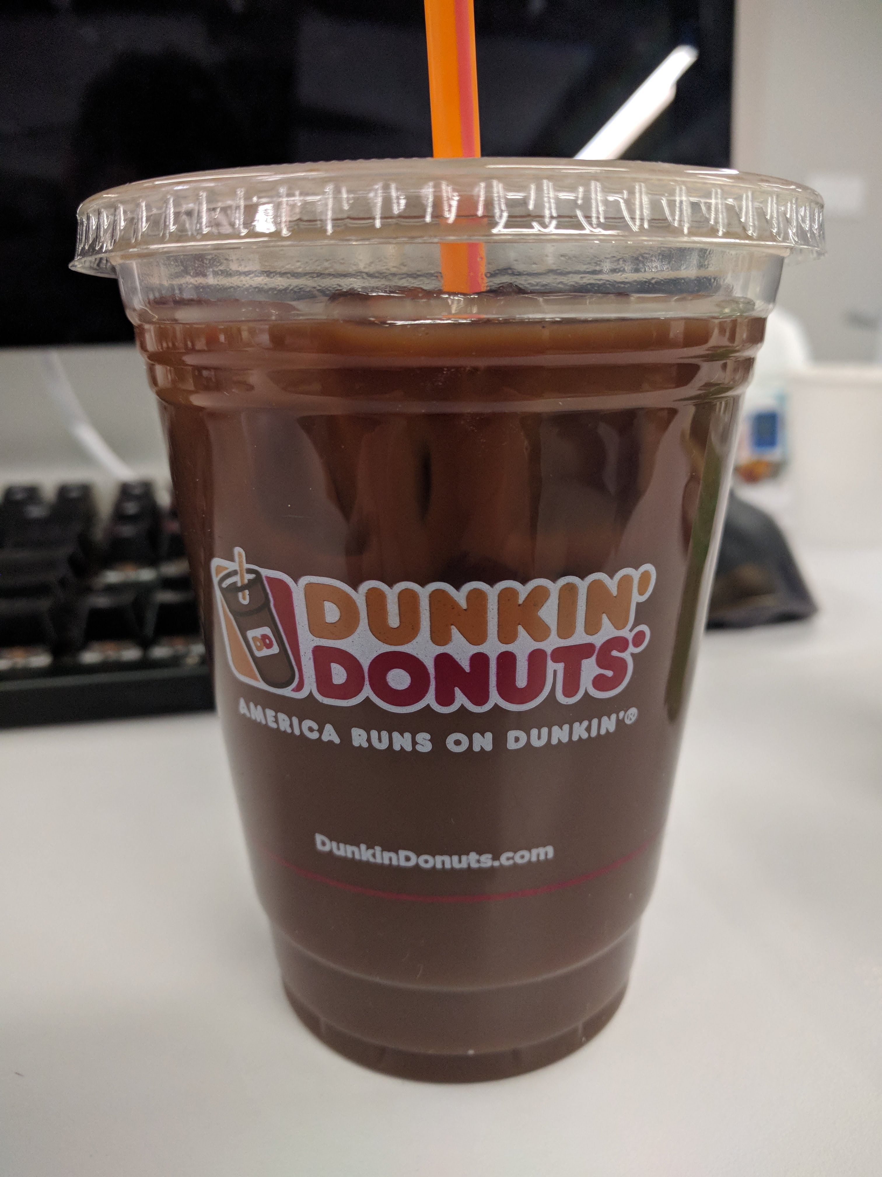 Thirsty Dudes Dunkin Donuts Iced Coffee Thin Mint