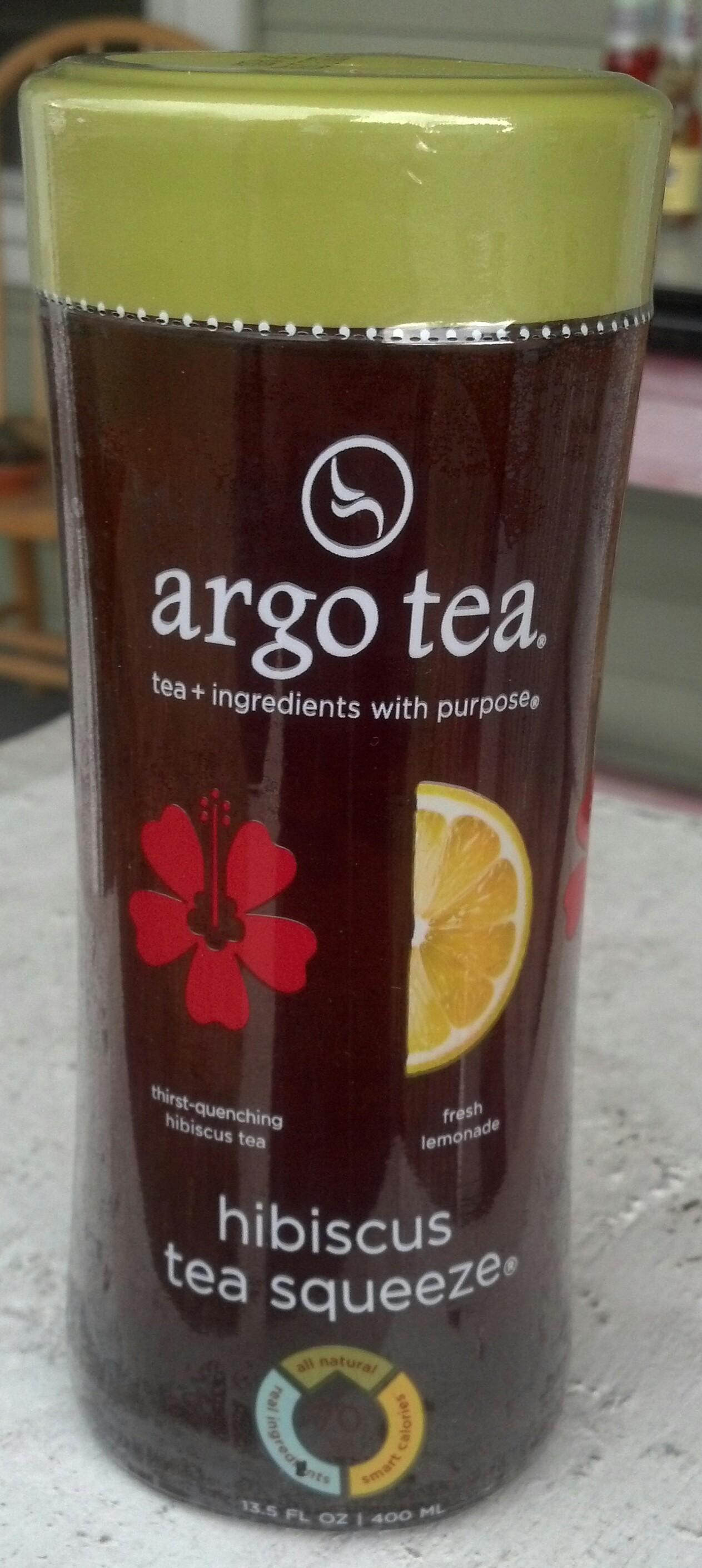 Thirsty Dudes :: Argo Tea Hibiscus Tea Squeeze