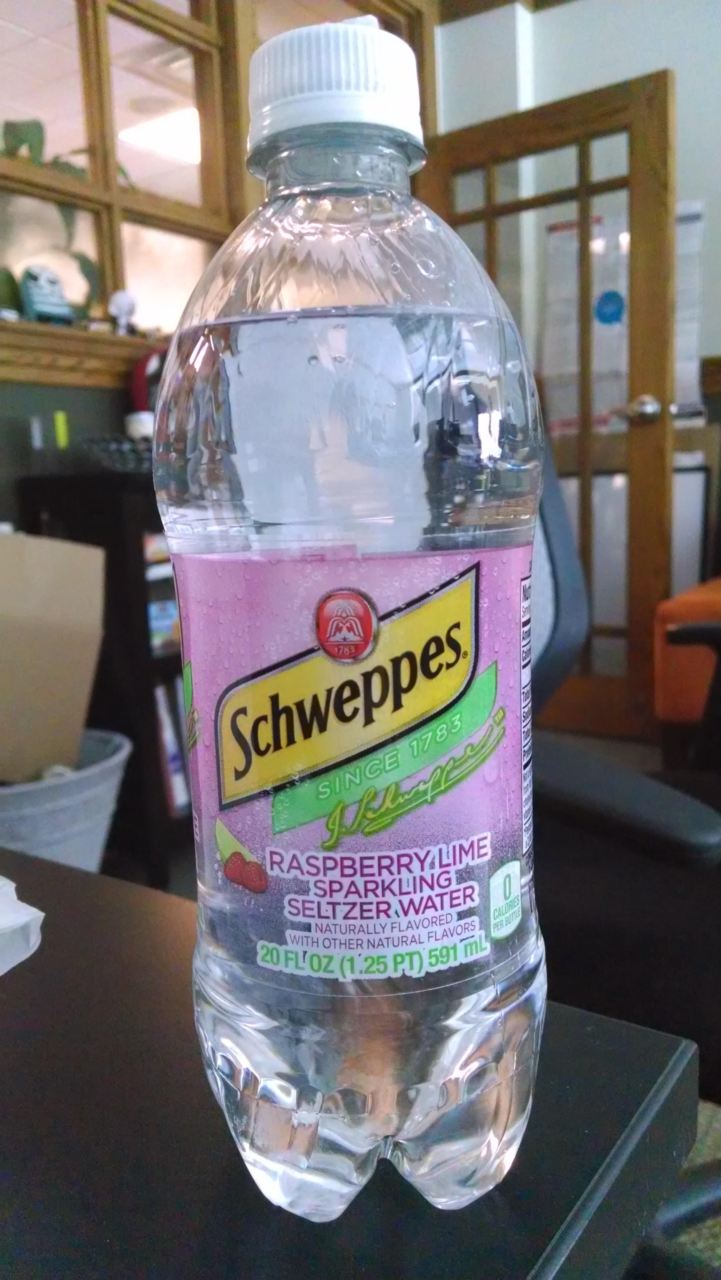 Thirsty Dudes Schweppes Seltzer Raspberry Lime