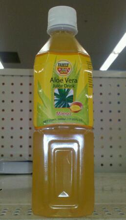 aloe vera dryck mango