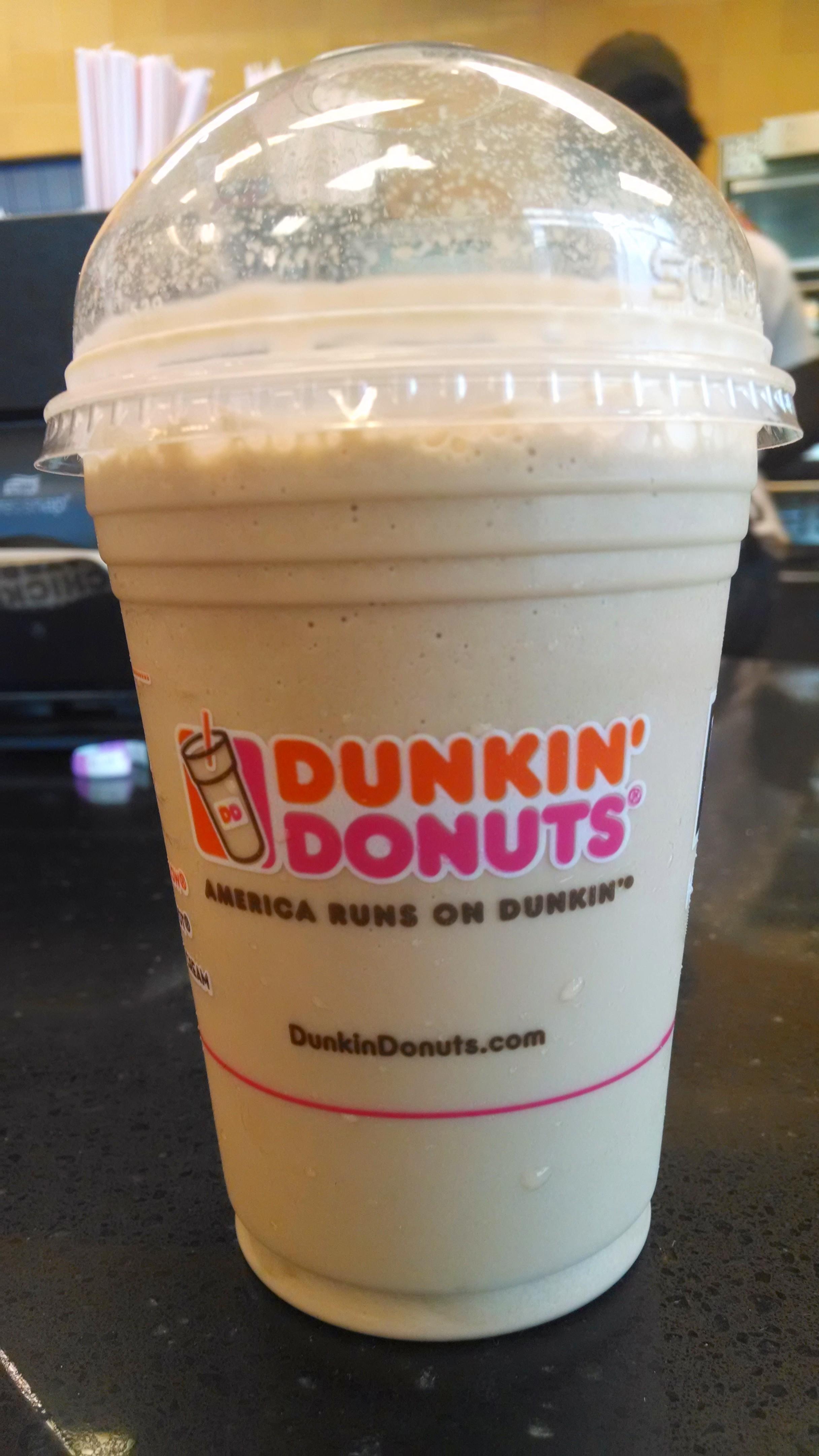 Thirsty Dudes Dunkin Donuts Coolatta Hazelnut Swirl