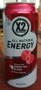 X2 Performance All Natural Energy Raspberry