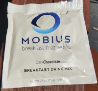 Mobius Breakfast Drink Mix Dark Chocolate