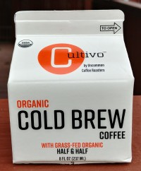 Cultivo Organic Cold Brew Coffee Half and Half