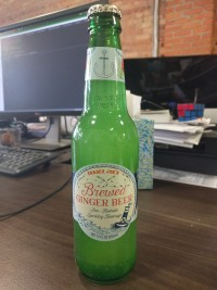 Trader Joe's Brewed Ginger Beer