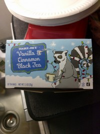Trader Joe's Black Tea Vanilla & Cinnamon