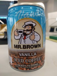 Mr. Brown Iced Coffee Vanilla
