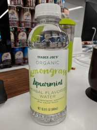 Trader Joe's Herbal Flavored Water Lemongrass Spearmint