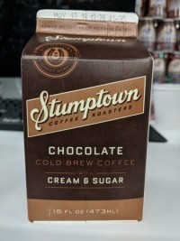 Stumptown Cold Brew Chocolate w/ Cream & Sugar