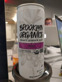 Brooklyn Organics Craft Ginger Ale Acai