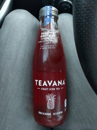 Teavana Craft Iced Tea Pineapple Berry Blue