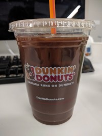 Dunkin' Donuts Iced Coffee Thin Mint