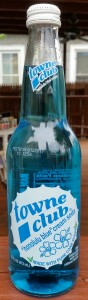 "Towne Club ""Honolulu Blue"" Cream Soda"