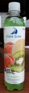 Claire Baie Naturally Flavored Sparkling Water Beverage With Juice Kiwi Strawberry