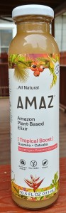 Amaz Amazon Plant-Based Elixir Tropical Boost - Guarana + Catuaba
