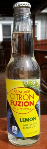 Paradise Citron Fuzion Water Beverage Lemon