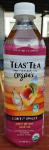 Teas' Tea Organic Lightly Sweet Peach Ginger Black Tea